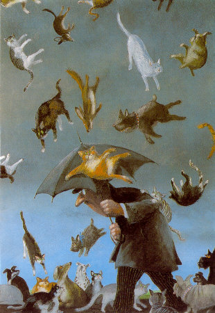 It's raining cats and dogs - Historical truths behind old English sayings